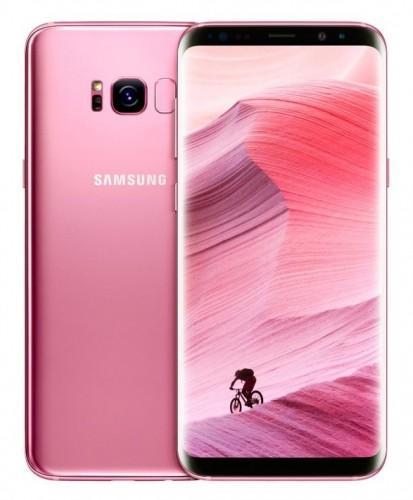 Samsung Galaxy S8 Rose Pink arrive aux Etats-Unis