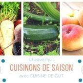 CUISINONS DE SAISON en Juillet 2017 !