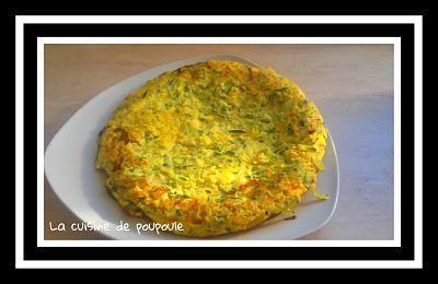 Tortilla aux courgettes au thermomix ou sans