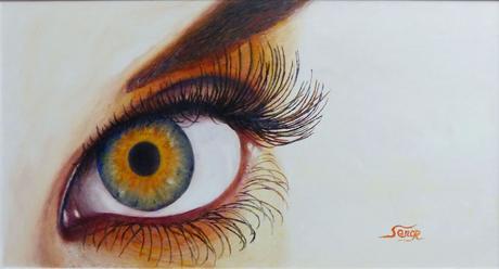 L'Oeiltournesol, peinture de Serge Boisse