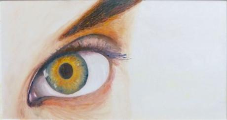 L'Oeil tournesol - Peinture de Serge Boisse