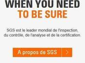 SGS, contrôle destructif externalisé