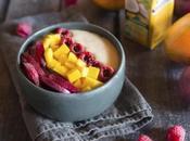 Glace express crème coco fruits frais