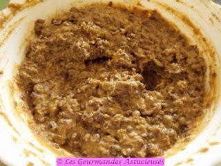 Houmos de lentilles, riz et concombre aux épinards (Vegan)