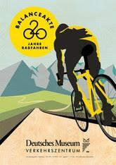 Grande expo 200 ans de vélo au Musée du Transport de Munich: Balancing Act.
