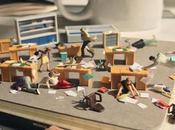 Scènes miniatures bureautique