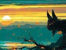 Émotions paysages colorés l'univers saisissant d'Alena Aenami