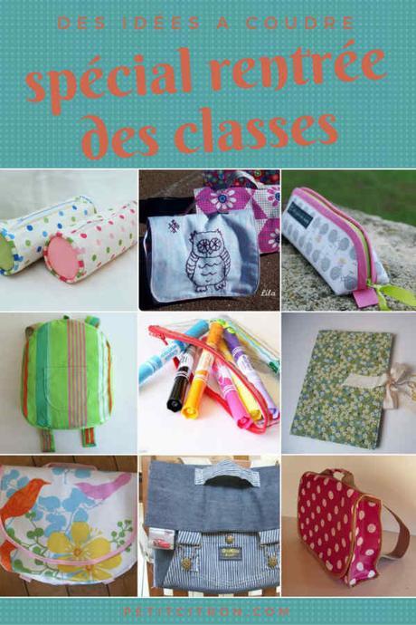 Préparez la rentrée des classes avec ces projets de couture