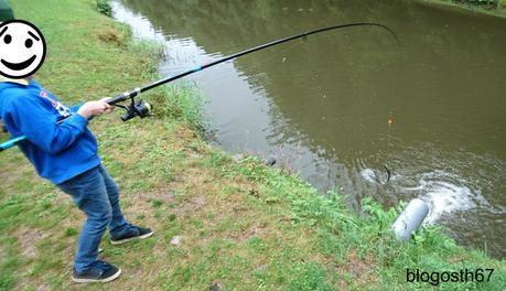 Pêche, prise et papillote !