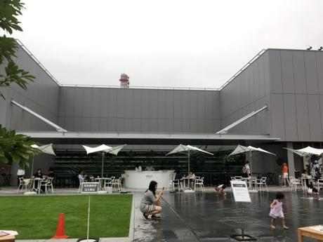 En promenade : « GINZA SIX garden »