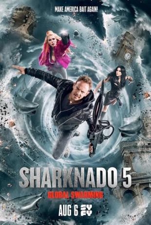 [Critique] SHARKNADO 5 : GLOBAL SWARMING