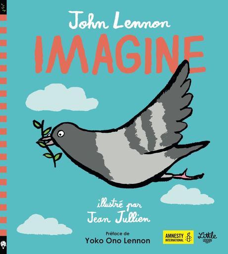 Un livre pour célébrer la Paix sur le thème d'Imagine #imagine #johnlennon #AmnestyInternational