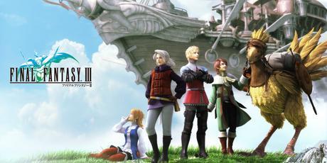 50% de réductions sur les Final Fantasy I - II - III - IV - V- VI sur iPhone et iPad