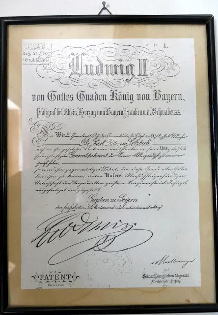 Présence de Louis II à la Soiernhaus