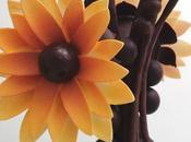 Pièce artistique fleur jaune