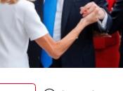 SCOOP Brigitte aussi serre main Trump