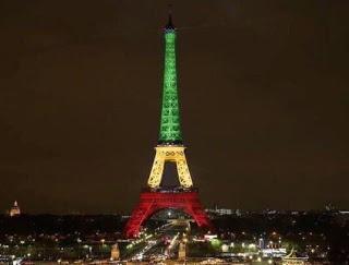 Attentats: Et pourquoi la Tour Eiffel n'est jamais éclairée aux couleurs de l'Afrique ?