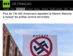 Les #antifa, organisation terroriste aux USA  ? Encore une #fakenews de la fachosphère…