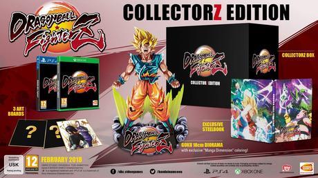 Dragon Ball Fighterz – Le collector et accès à la bêta