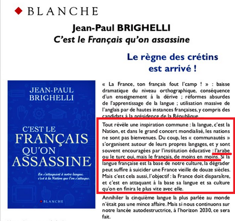 #Brighelli édité par  la maison d'édition de Soral…  (quoi de plus naturel en somme ?;)