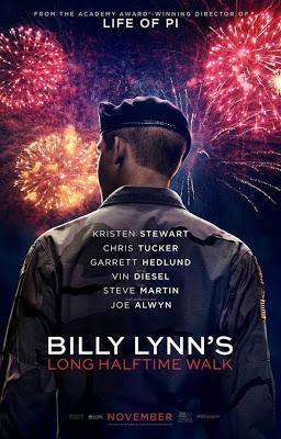 Un jour dans la vie de Billy Lynn - Billy Lynn's Long Halftime Walk, Ang Lee (2017)