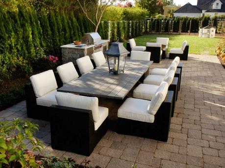 Salon jardin terrasse