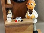 Comptoir avec Pharmacien porcelaine froide