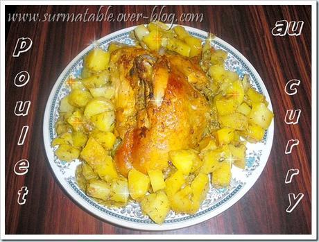 poulet et pommes de terre au curry double cuisson paperblog cuisine howldb. Black Bedroom Furniture Sets. Home Design Ideas