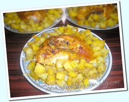 poulet et pommes de terre au curry double cuisson. Black Bedroom Furniture Sets. Home Design Ideas