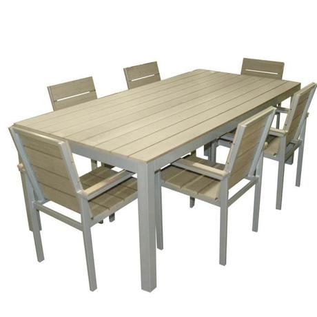 Beautiful Table Jardin Imitation Bois Ideas - Amazing House Design ...
