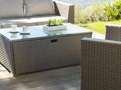 Table salon jardin meuble exterieur cher