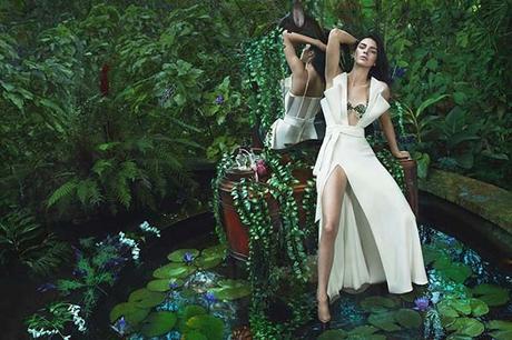 Kendall Jenner de nouveau dans la campagne Automne/Hiver 2017 de La Perla