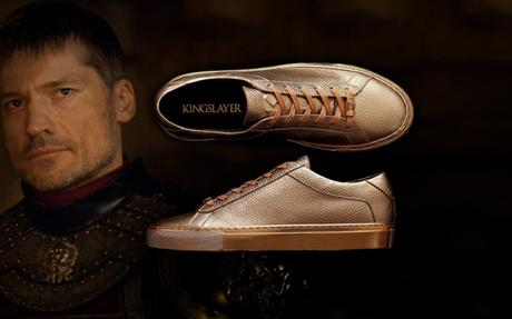 Game of Thrones : HBO lance des sneakers gold Jaime Lannister