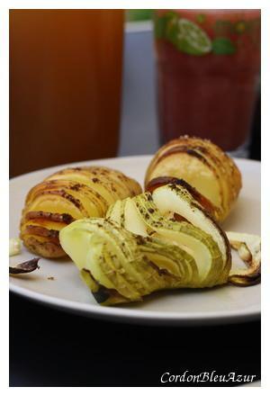 Courgettes comme des pommes de terre suédoises