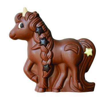 Licorne au chocolat au lait bio (de vache) de...