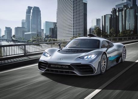 Mercedes AMG dévoile son hypercar «Project One» à 2,7 millions de dollars