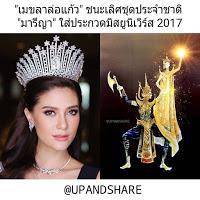 Miss Univers Thaïlande sera Maiden-Chasing Ogre à Las Vegas