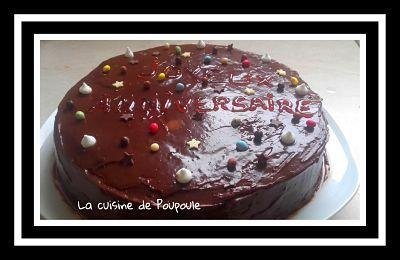 Gâteau chocolat fruits rouges au thermomix ou sans