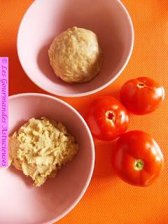 Tarte fine à la tomate (Vegan)