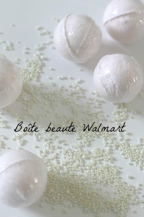 Ma Boîte beauté Walmart - détente spa à la maison