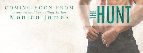 Cover Reveal : Découvrez la couverture de The Hunt , le prochain roman de Monica James