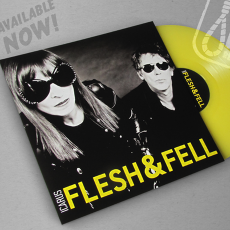 Album on vinyl - Flesh & Fell - Icarus.