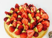 Tarte fraises revisitée façon Fantastik