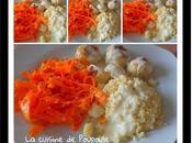 Boulettes poulet, sauce chèvre, tagliatelles carottes thermomix sans