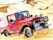 TOYOTA B.J.43 Paris-Alger-Dakar 1984