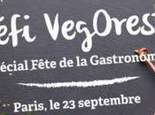 Fête Gastronomie menus 100% végétaliens défi VegOresto