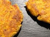 Galettes végétariennes pois chiche carottes