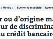 #racisme bancaire l'argent d'odeur, sait maintenant qu'il couleur…