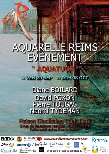 Vernissage de Reims aquarelle évènement