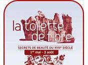 Toilette Flore Secrets Beauté XVIIIème siècle Château Lunéville